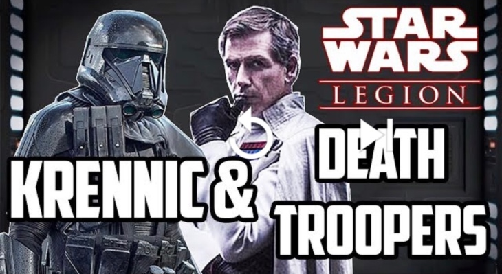 Krennic and Death Troopers